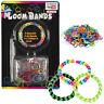 80Pc Loom Bands Starter Set Clasps Hook Kids Bracelet Party Craft Bag Filler Toy