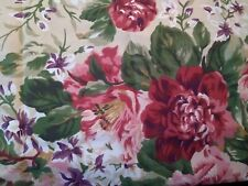 NEW Ralph Lauren Constance Red Standard Floral One Pillowcase