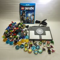 Wii U Lego Dimensions Bundle Lot-Game, Portal, Pieces & Mini-figs-READ