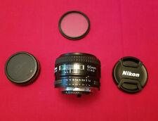 US Model Nikon AF Nikkor 50mm f/1.4D Prime Lens - Excellent!