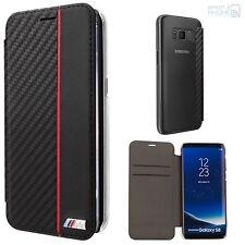 BMW M Aspect Carbone Samsung Galaxy S8, S8 plus étui pour portable