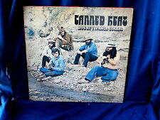 CANNED HEAT~LIVE AT TOPANGA CORRAL~GATEFOLD~RARE~WAND~WHITE ~BOOGIE~ BLUES  LP