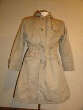 Men's Vtg 50s Olive ABERCROMBIE & FITCH CO GRENFELL CLOTH Overcoat Parka Coat 44