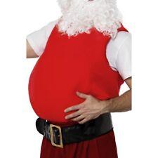 Adulto Papá Noel Vientre Relleno Hombre Papá Noel Accesorio de Disfraz