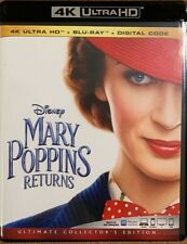 DISNEY MARY POPPINS RETURNS 4K ULTRA HD BLU RAY 2 DISC SET ULTIMATE COLLECTORS
