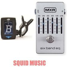 MXR M-109S Six Band Graphic EQ Equalizer M109S Pedal 6 Band ( FREE DUNLOP TUNER)