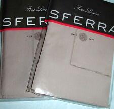 Sferra Celeste Euro Sham Wisteria Grey SET/2 Egyptian Cotton Percale Italy New