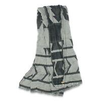 Tentree Mens Woven Blanket Scarf Black One Size New