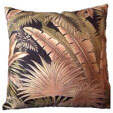 45x45cm Tommy Bahama Outdoor Bahamian Breeze Dark Leaves Cushion Cover