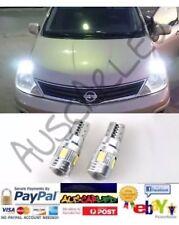 White Premium Bright LED Suit Volvo V70 2000 to 2009 Parking Lights Globes Bulbs