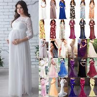 Pregnant Womens Long Maxi Dresses Sequins Tutu Maternity Dress Photography Props