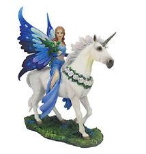"10.5"" Anne Stokes Realm of Enchantment Statue Fantasy Gothic Fairy Unicorn"