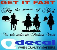 HORSE FLOAT riding racing CAR UTE TRUCK STICKERS