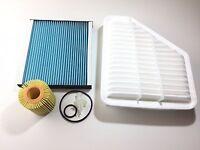 Ölfilter Luftfilter Pollenfilter Toyota Auris NRE15 ADE18 2.0 D 2.2 D