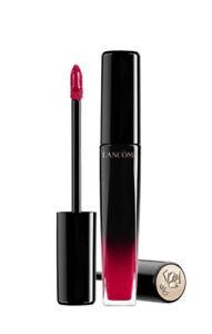 LANCOME L'ABSOLU LACQUER 168 Rose Rouge longwear buildable lipstick