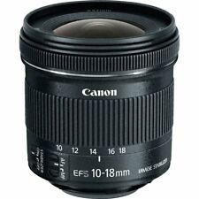 Canon 9519B009 Objetivo para Cámara EF-S 10-18mm F/4.5-5.6 IS STM - Negro