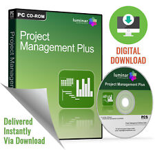 Project Management Plus 2019 - Software for Microsoft Windows/Mac (Download)