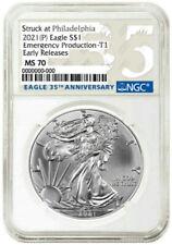 Monedas de plata MS 70