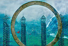 7x5FT Harry Potter Quidditch Game Valley Custom Photo Background Backdrop Vinyl