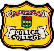 Saskatchewan Police College Patch Old Canadian Police Training Patch meau20