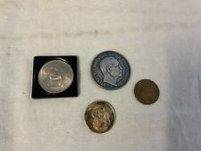 bü19# 4 diverse Münzen