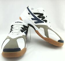 NWOB $80 HI-TEC Mens SNEAKERS Shoes White Blue Black ADRENALIN  PPO US 14 EU 47