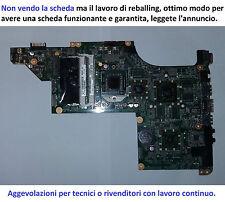 SCHEDA MADRE HP DV7 4107SL - REBALLING GARANTITO € 64 E BASTA TUTTO INCLUSO