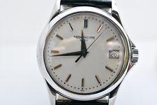 Patek Philippe Calatrava 5127G-001 37MM White Gold Mens Strap Watch
