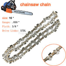 "16"" Chainsaw Saw Chain Blade Craftsman Pitch 3/8""LP 0.050 Gauge 57 Drive Links"