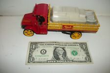 First 1st Gear Mack Series AC Stake Truck With Hat 1:34 - 2000 - 19-2522