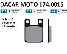 174.0015 PLAQUETTE DE FREIN RACE POLINI HM : CRE 50 Minarelli AM6