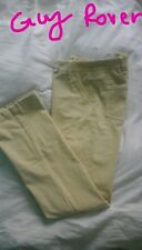 GUY ROVER PANTALONE  VELLUTO DONNA 42 MADE IN ITALY