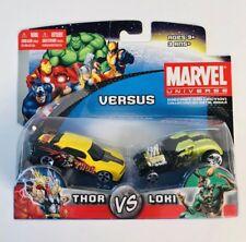2011 Marvel versus THOR vs LOKI diecast cars MAISTO NIB