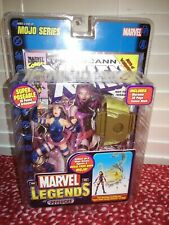 Toy Biz 2006 Marvel Legends Psylocke NEW Sealed w/ Comic & Mojo BAF Part