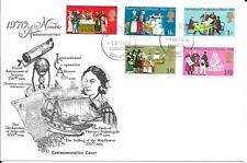 1970 Anniversaries On Scarce Graphic Art FDC