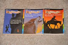 Lot 3 livres GARIN TROUSSEBOEUF tomes 1 2 3  - édition FOLIO JUNIOR