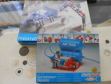 Fischertechnik Pneumatik mit Kompressor Bausatz # Beide original verpackt #