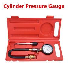 New Pressure Gauge Compression Tester Kit Car Cylinder Pressure Gauge Tester Kit