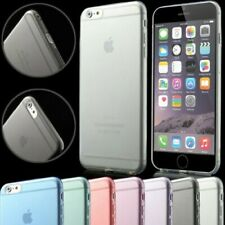 Apple IPHONE 6 Plus TPU Silicona Funda Protectora Carcasa Cristal para Móvil