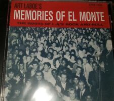 Art Laboe's Memories Of El Monte: The Roots Of L.A.'s Rock And Roll NEW CD