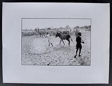 7 Photos - Ethiopie - Tirages argentiques 30 x 40 sur papier baryté -