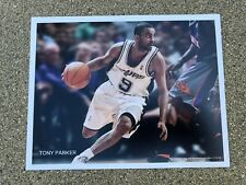 """Nike VERY RARE 2008 Tony Parker 7""""x5.5"""" Supershot Ad Poster Photo Spurs"""