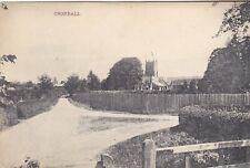More details for crondall, old postcard - shows castle inn - nr farnham, odiham (ref 6259/21/g4)