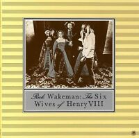 *NEW* Rick Wakeman Card Sleeve CD Album - THE SIX WIVES OF HENRY VIII
