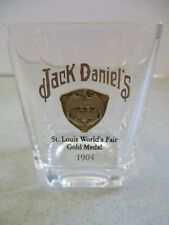 JACK DANIEL'S GOLD MEDAL SHOT GLASS 1904 ST. LOUIS FROM 2002 COLLECTION SET