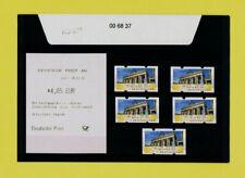 Bund-ATM Nr. 6 offizieller VS-Satz 2 TOR 5/20/75/165/200 Ausg. 1.1.11 postfrisch