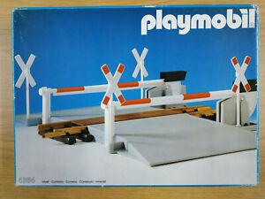 Playmobil Eisenbahn LGB Train - Bahnübergang mit Schranken 4364  - OVP