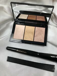 🖤ELIZABETH ARDEN Blush Trio Bellini Copper Soft Pearl + BRUSH!🖤