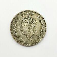 1941 One Rupee India - World Silver Coin - George VI - KM# 556