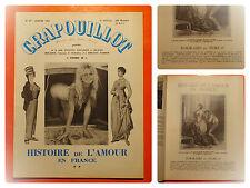 CRAPOUILLOT 47 -01/1960-Histoire de l'amour en France Volume 2. Brigitte Bardot